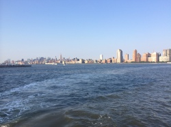 Midtown, nyc, ferry, paulus hook, empire state